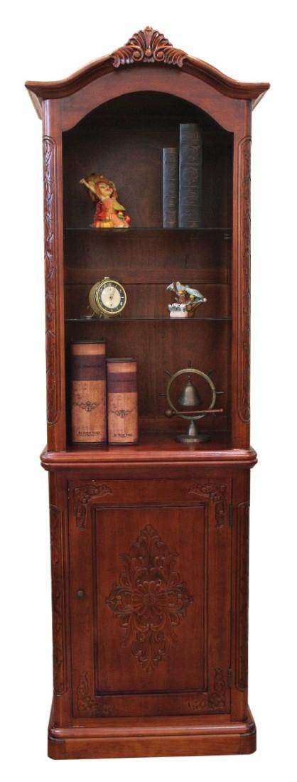 Κλασσική βιβλιοθήκη με ντουλάπι