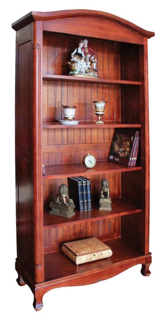 Κλασσική βιβλιοθήκη ξύλινη