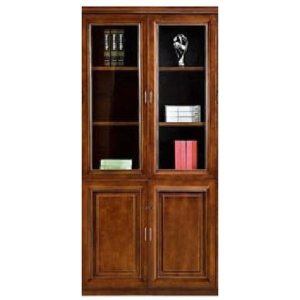 Βιβλιοθήκη-δίφυλλη-κλειστή-με-βιτρίνα-da573-4