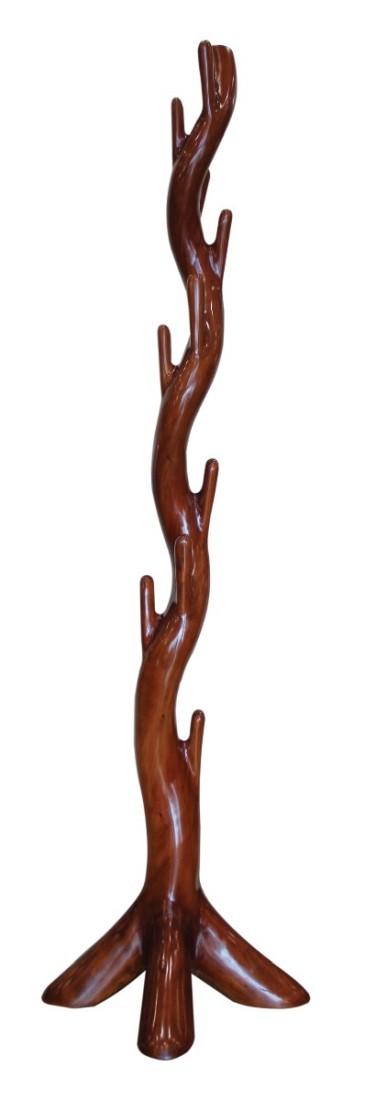 Καλόγερος Ξυλίνος Κορμός Μασίφ