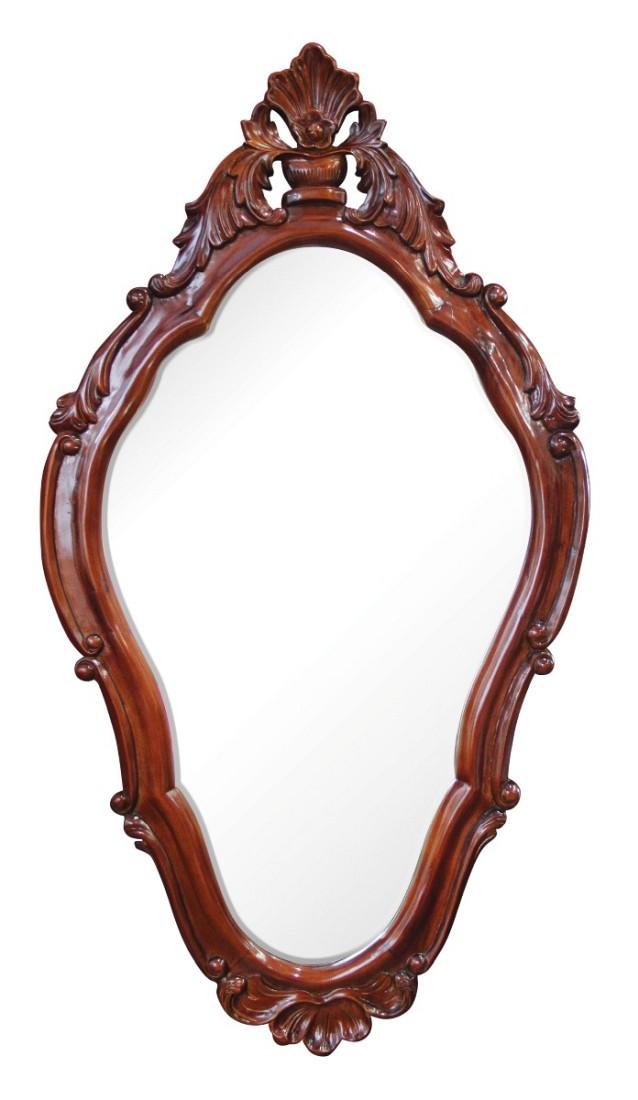 Καθρέπτης τοίχου ξύλινος σκαλιστός κλασικός