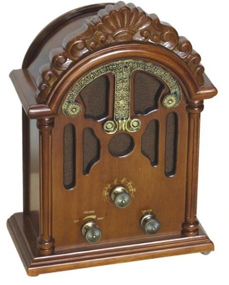 Υπέροχο κλασσικό ραδιόφωνο (AM/FM).