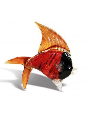 Μπιμπελό Μουράνο Γυάλινο Χειροποίητο Ψάρι NZA-2059