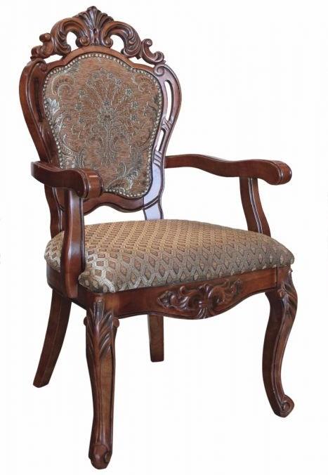 Πολυθρόνα Σκαλιστή Με Κεντητή Στόφα JF2210A-H22