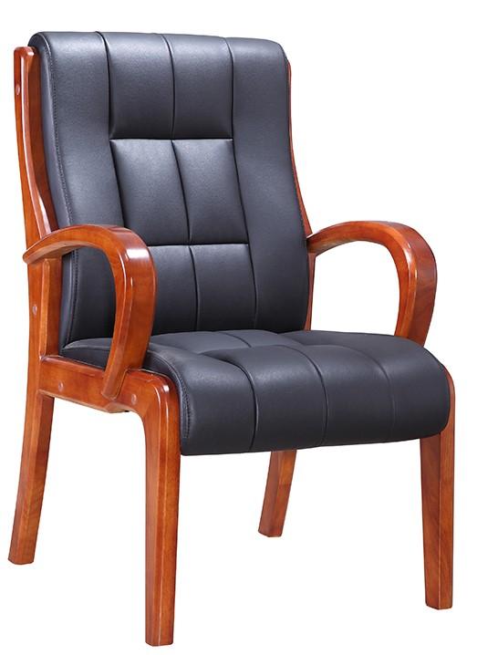 Πολυθρόνα επισκέπτη γραφείου, με απλό και λειτουργικό σχέδιο, άψογο λουστράρισμα, πολύ καλής ποιότητας ταπετσαρία και ανατομικό κάθισμα.